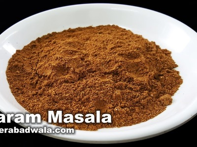 Garam Masala Recipe Video - How to Make Garam Masala Powder at Home - Easy, Quick & Simple