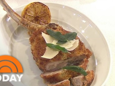 Giada Shows How To Make Veal Saltimbocca Restaurant-Style | TODAY