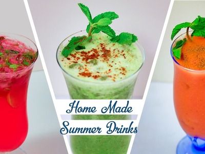 Homemade Summer Drinks Recipe – How To Make Easy Refreshing Summer Coolers