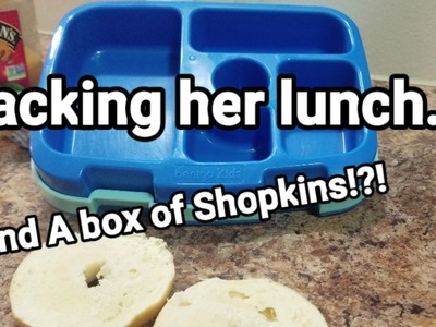 How I make my kindergartener's lunches - Bento Box Style - Week 17