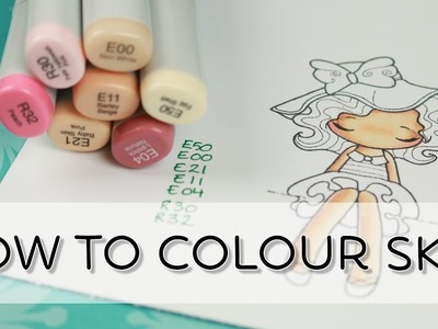 How To Color Skin With Copic