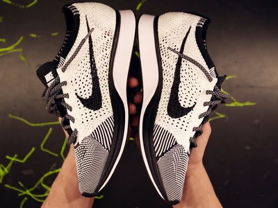 """How To Customize Your Nike Flyknit Racer """"OREO"""""""
