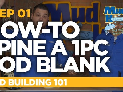 How-To Find The Spine Of A  1pc Rod Blank | Rod Building 101