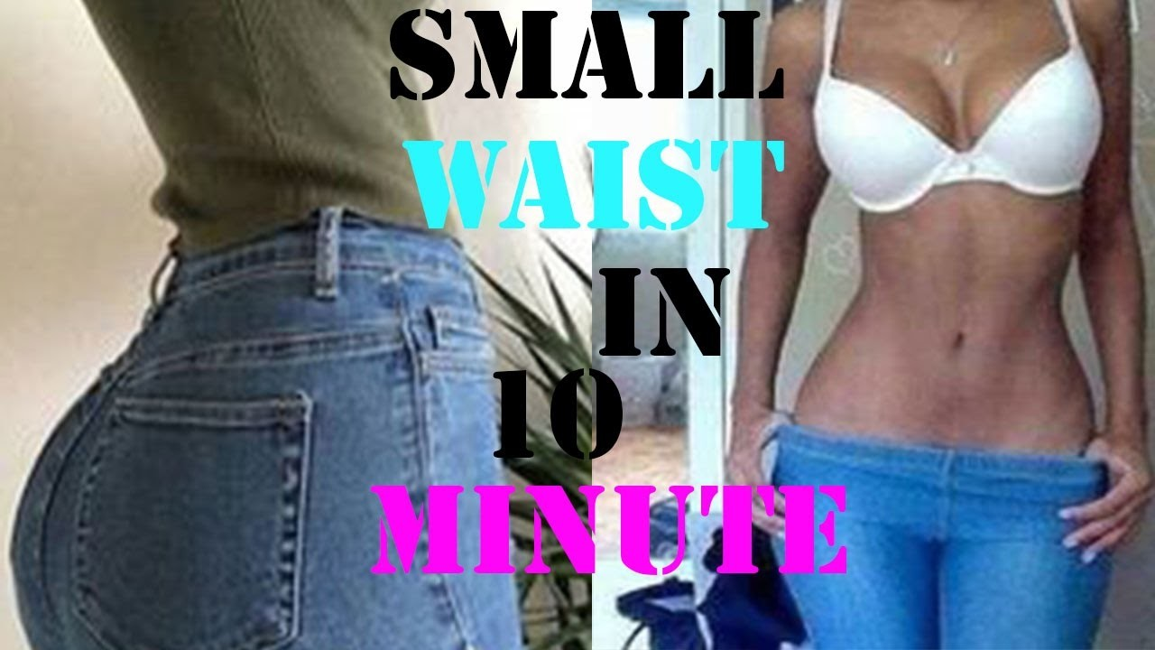 How to get a smaller waist fast 10  minutes abs exercises to shrink waist workout for a slim waist