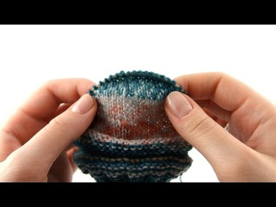 How to Knit on 9 inch Circular #3 Heel