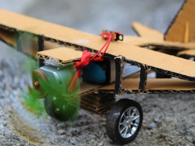 How To Make a Airplane - Plane - school project