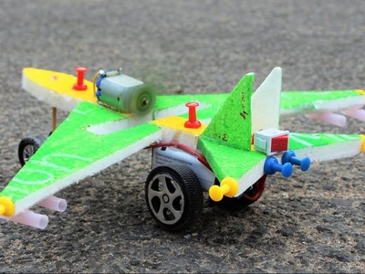 How To Make a Airplane - Toy Plane