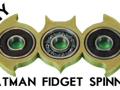 How to make a BATMAN FIDGET  SPINNER for under $3.00