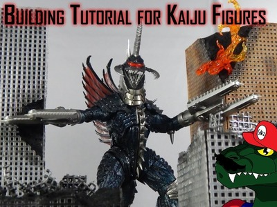 How to make a Building tutorial for Godzilla or Kaiju Figures (REUPLOADED)