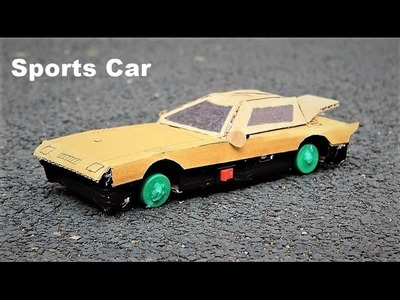 How to make a Car - SPORTS CAR