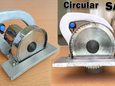 How to Make a Circular Saw at Home