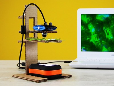 How to Make a Digital Microscope at Home