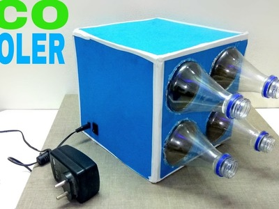 How to Make a Eco Air Cooler at home using Plastic Bottle ( Very Simple )