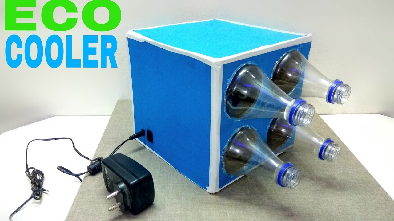 How To Make A Eco Air Cooler At Home Using Plastic Bottle