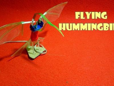 How to make a flying robot bird (humming bird)