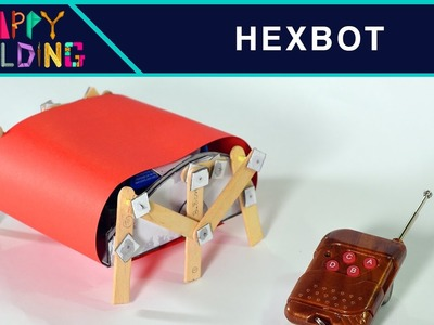 How to make a HexBot Robot!? Happy Building!