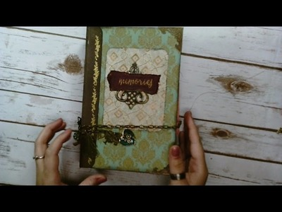 How to make a Junk Journal with Your Stash