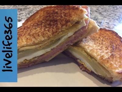 How to. Make a Killer Fried Egg Cuban Sandwich