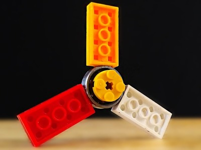 How to make a Lego Fidget Hand Spinner. DIY Fidget Toy