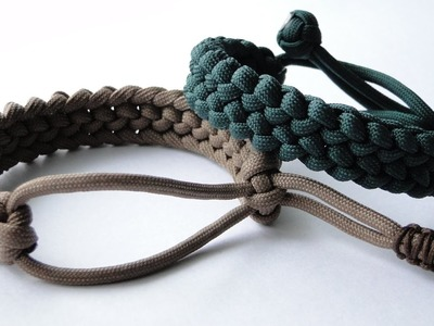 """How to Make a """"Mad Max Style"""" Basic Conquistador Paracord Survival Bracelet.Paracord 2017"""