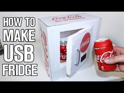 How To Make a Mini USB Refrigerator