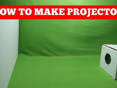 How to make a mobile phone Projector at home