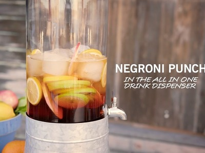 How To Make a Negroni Punch