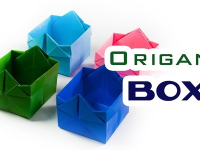 How to make a paper box | Origami BOX