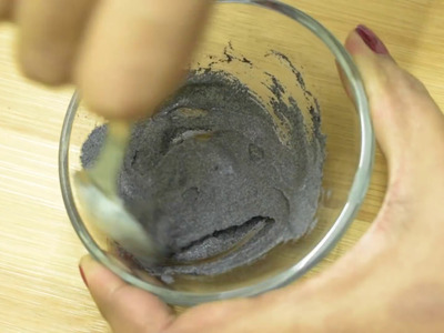 How To Make A Peel Off Charcoal Face Mask   Removes Everything and Get Smaller Pores