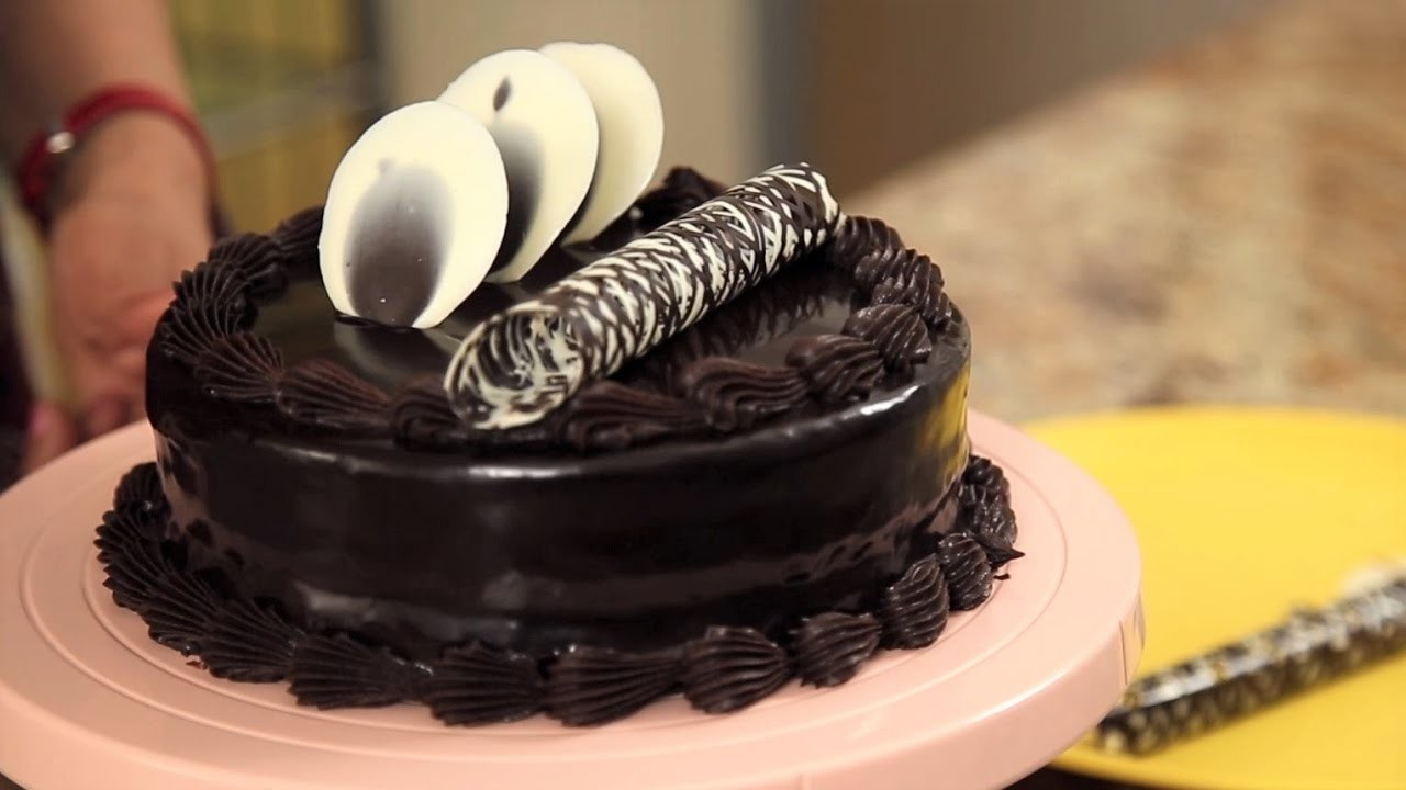 How to make a Quick and easy Eggless Double Truffle Layered Cake