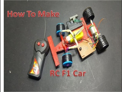 How to Make a RC F1 Car at Home (very simple)