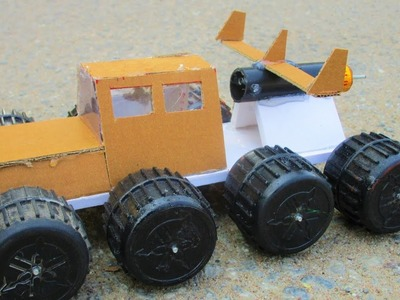 How To Make a Rocket Car -  make your own creation