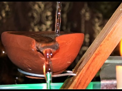 How to make a Tabletop WATER FOUNTAIN. Relaxing WaterFall