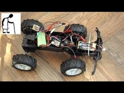 How to make a toy car with a motor and battery at home