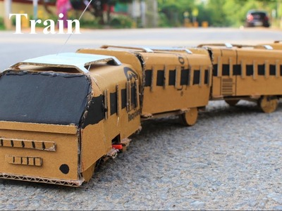 How To Make a Train - RC Train - make your own creation
