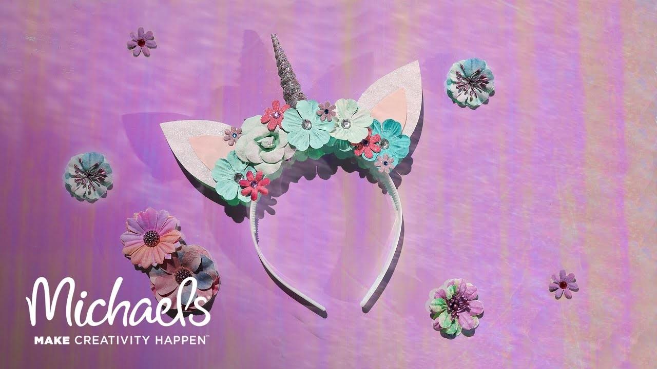 How to Make a Unicorn Headband  7d74465c1d1