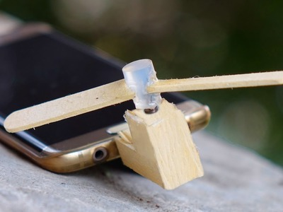 How to Make a Wooden Micro-USB OTG Fan for Mobile. SmartPhone