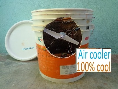 How to make air cooler at home || कैसे बनाये एयर कूलर घरपर