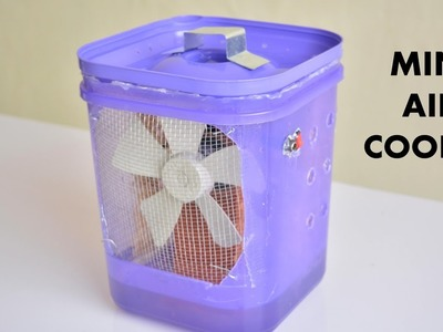 How to Make Air Cooler at Home - Easy Way
