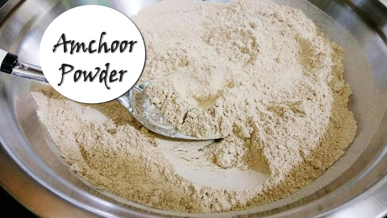 How to make Amchoor Powder at Home | Dry Mango Powder Recipe | आम चूर मसाला घर पर बनायें