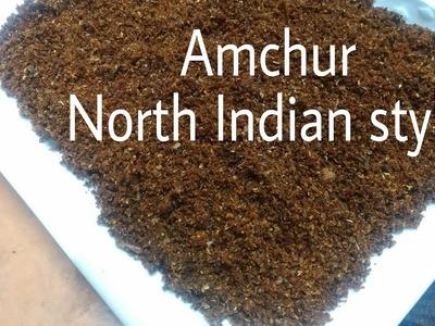 How to make Amchur Powder | Amchur |आमचूर I Dry Mango Powder Recipe