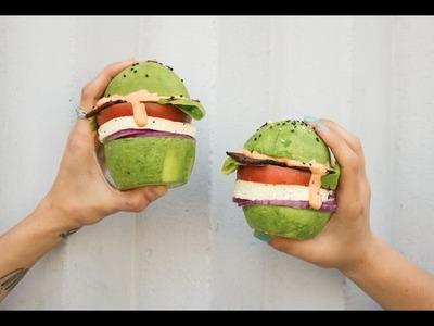 How to Make an Avocado Bun for Breakfast