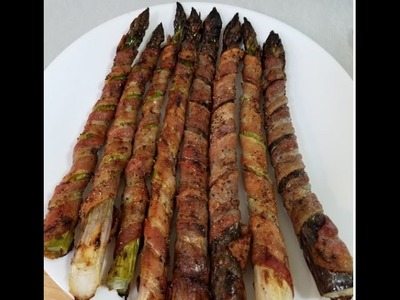 How to make Bacon Wrapped Asparagus , step by step