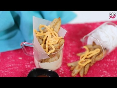 How To Make Baked Cheesy Garlic French Fries - POPxo Food