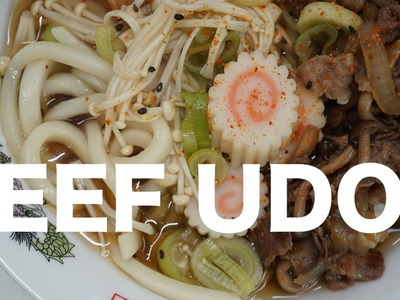 How to Make Beef Udon