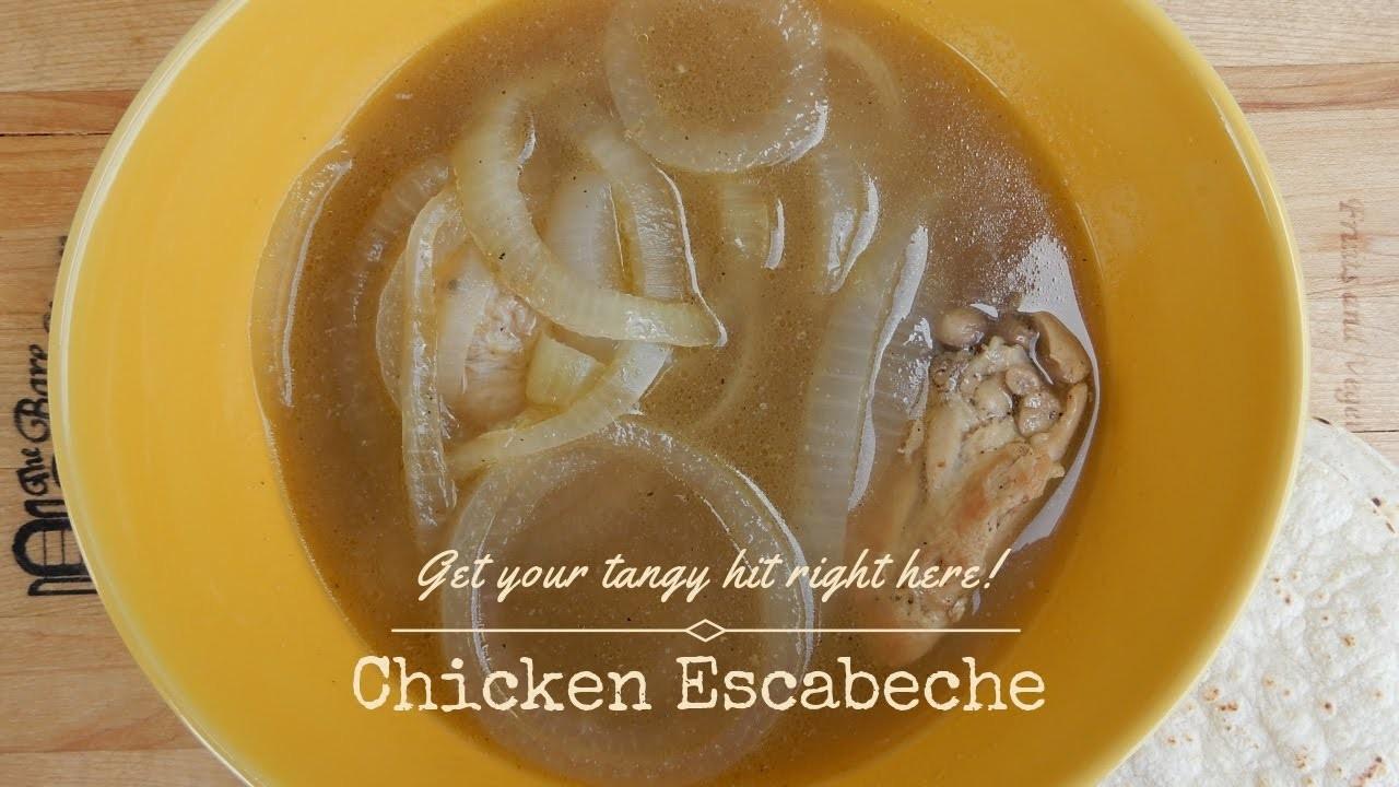 How to Make Belizean Chicken Escabeche