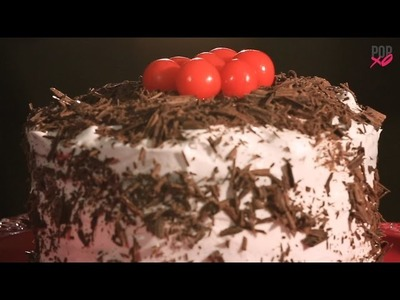 How To Make Black Forest Cake At Home - POPxo Food