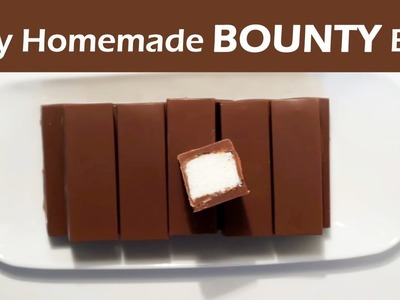 How to make Bounty Chocolate Bars