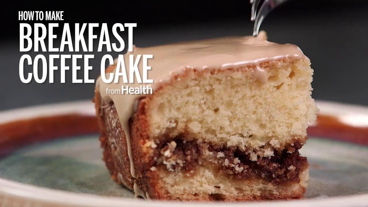 How to Make Breakfast Coffee Cake | Health