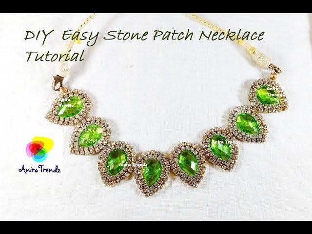 How to make Bridal Necklace at Home | Designer Necklace | Patch Necklace | CHOKAR | DIY Tutorial